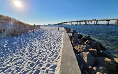 Destin Jetty's Norriego Point Beach Walk